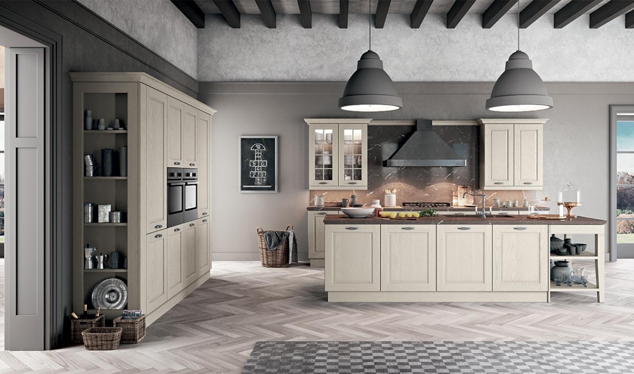 Asolo arredo3 scorcucchi interni cortona for Cucine classiche arredo 3