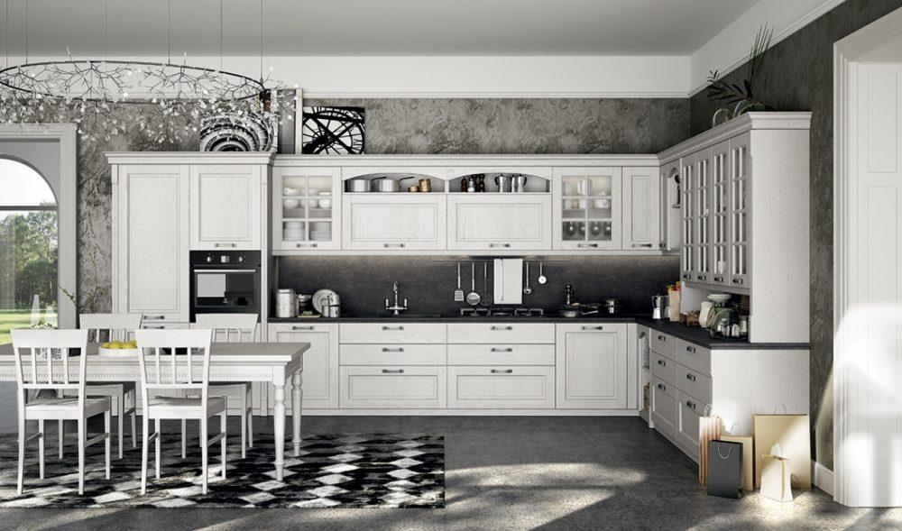 Virginia è una collezione dal design classico, impreziosito dal pregio delle sue finiture.