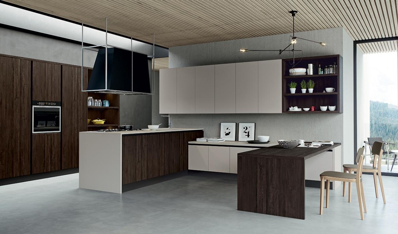 Kali 39 arredo 3 scorcucchi interni cortona for Arredo cucina design